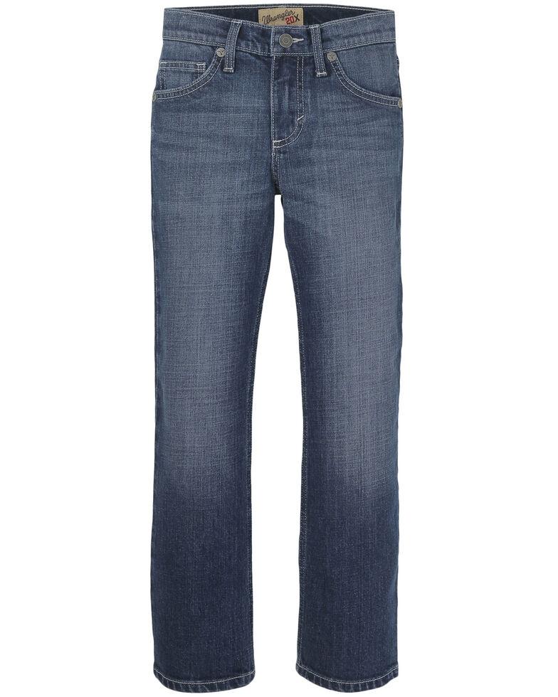 Wrangler 20X Boys' 8-16 No.44 Lipan Stretch Slim Straight Jeans , Blue, hi-res