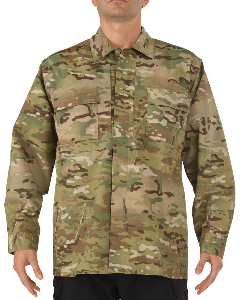 5.11 Tactical Multicam TDU Long Sleeve Shirt, Camouflage, hi-res