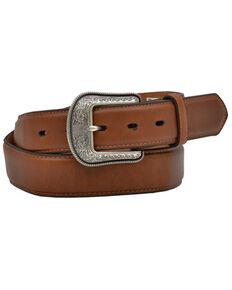 M & F Western Men's Cognac Belt , Cognac, hi-res