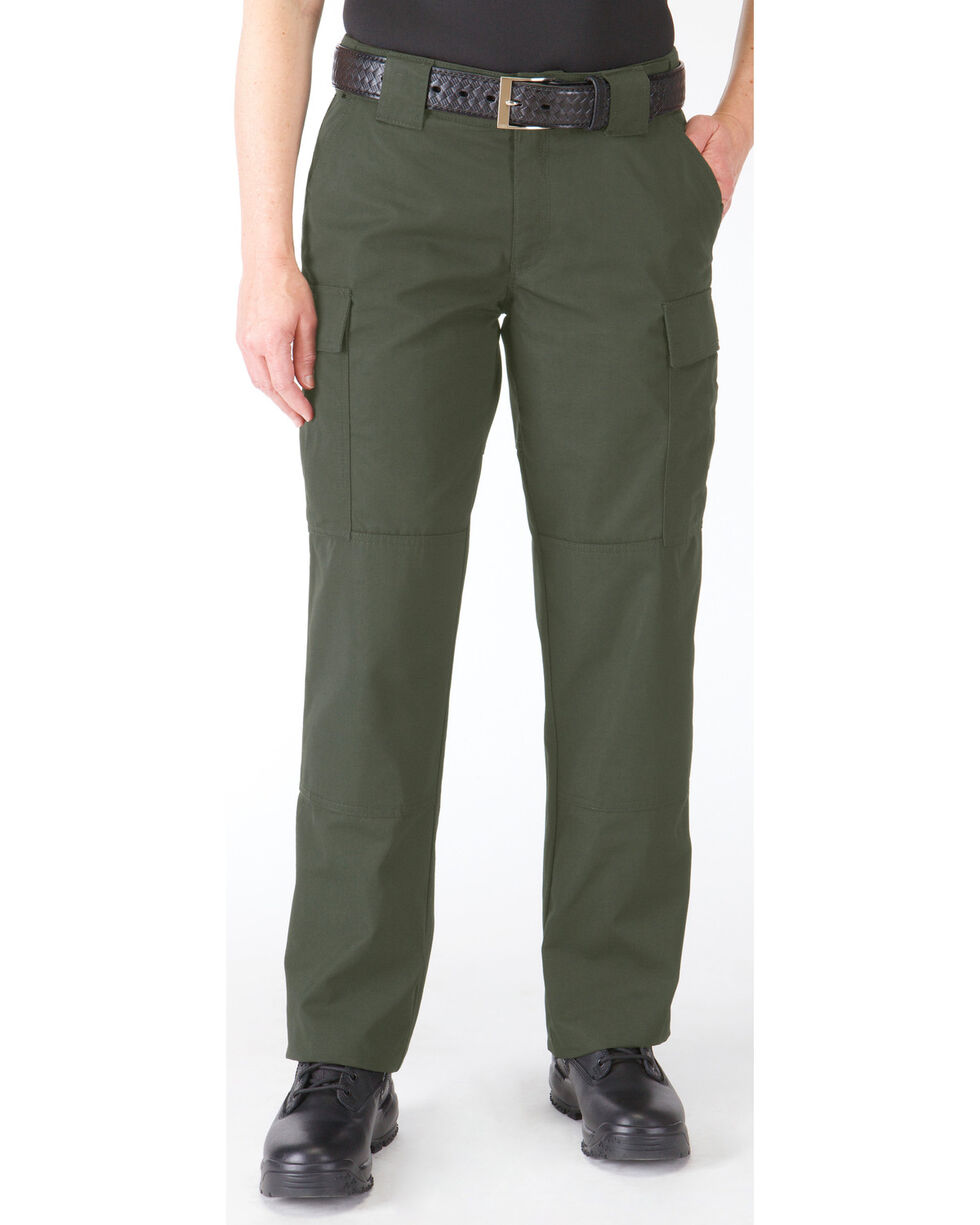5.11 Tactical Women's TDU Pants, Green, hi-res