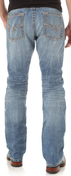 Wrangler Rock 47 Men's Indigo Denim Jeans - Slim Fit, Indigo, hi-res
