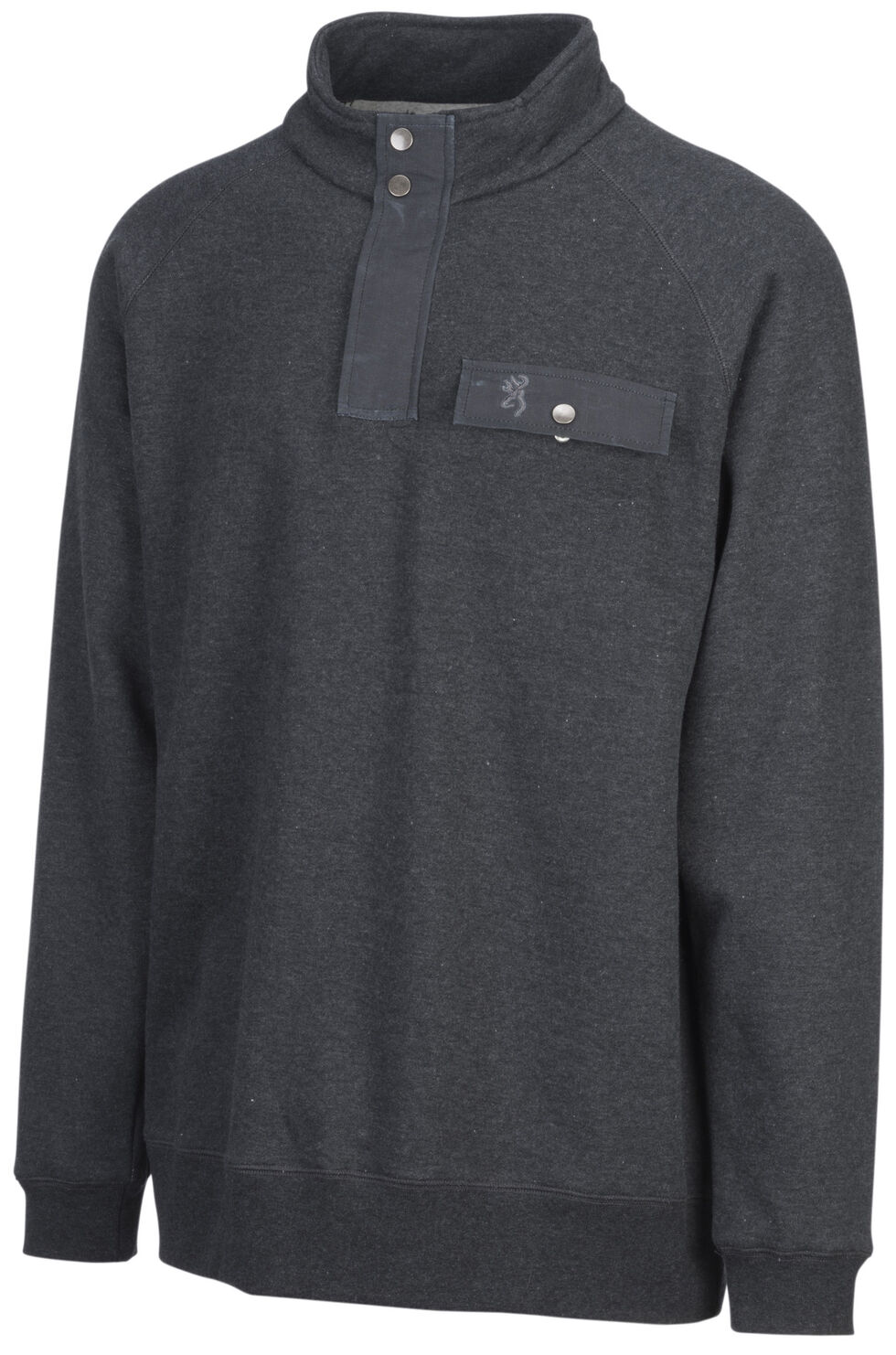 Browning Men's Black Boulder Sweatshirt, , hi-res