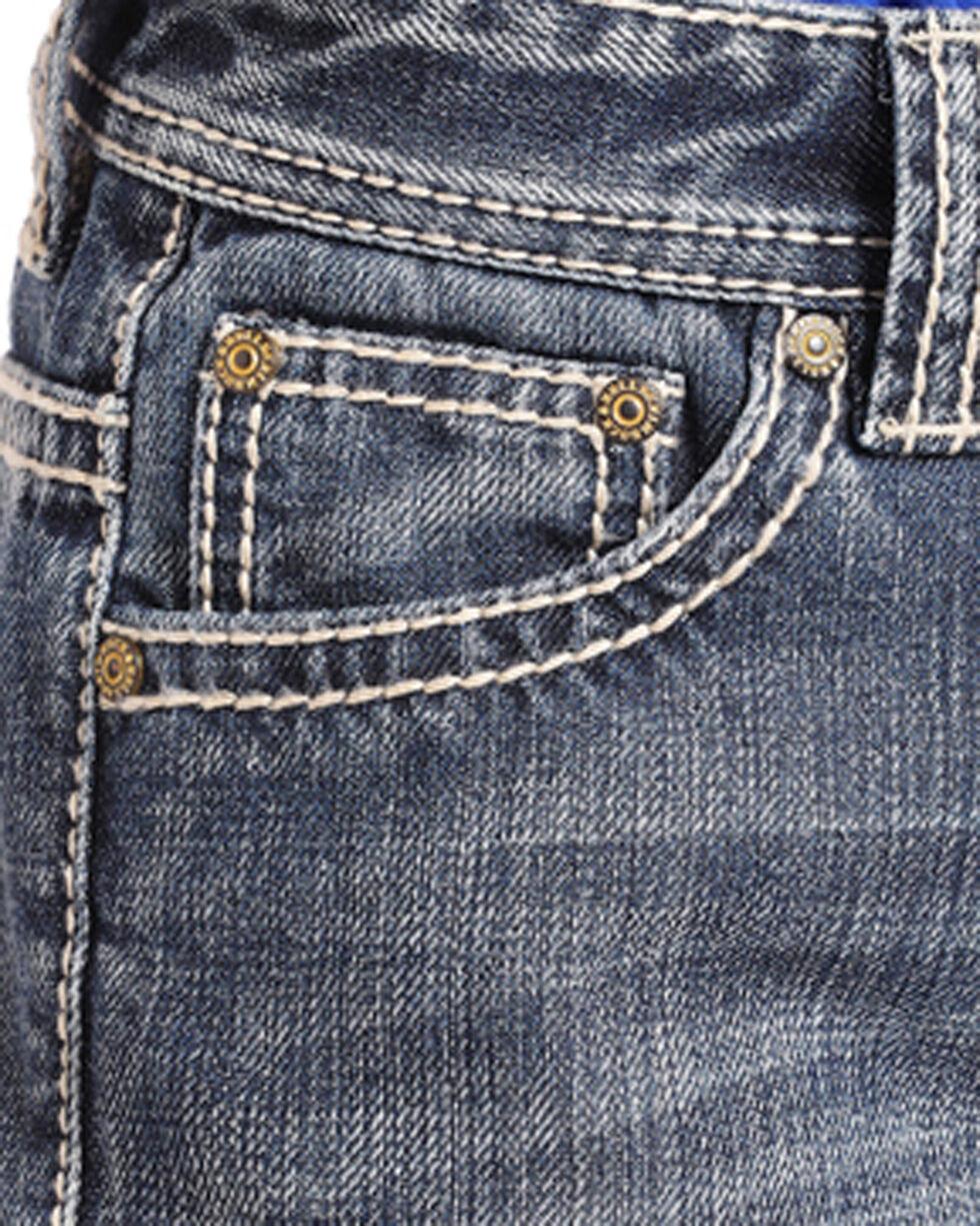 Rock & Roll Cowboy Boys' Medium Vintage Wash Regular Fit Jeans (4-20) - Boot Cut, Blue, hi-res