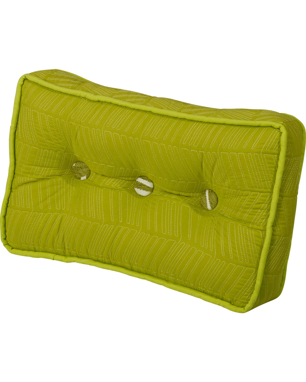 HiEnd Accents Green Capri Boxed Pillow, Multi, hi-res