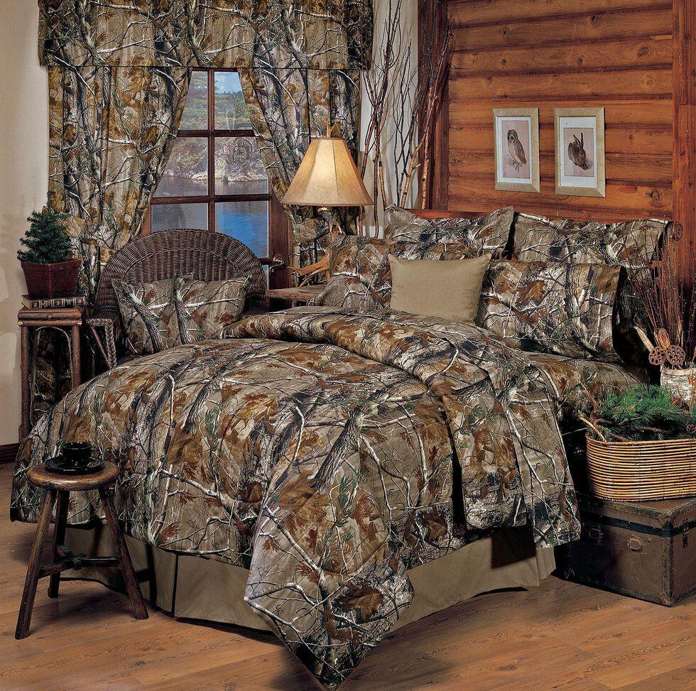 Realtree All Purpose Queen Comforter Set, Camouflage, hi-res