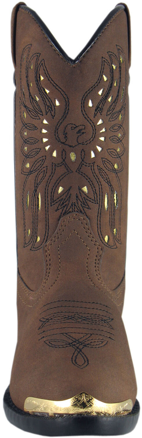 Smoky Mountain Toddler Boys' Phoenix Western Boots - Round Toe, Brown, hi-res