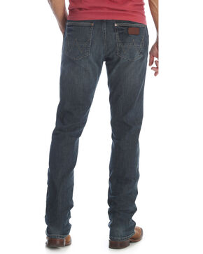 Wrangler Men's Jerome Retro Slim Fit Jeans - Straight Leg , Indigo, hi-res