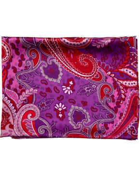 Schaefer Outfitter Paisley Wild Rag , Purple, hi-res
