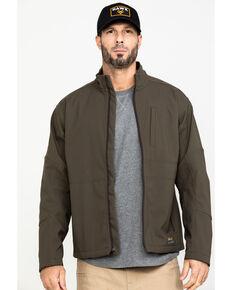 Ariat Men's Rebar Stretch Canvas Softshell Work Jacket - Big & Tall , Loden, hi-res