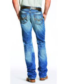 ff8e9896bed Ariat Mens Blue M5 Slim Fit Jeans - Straight Leg