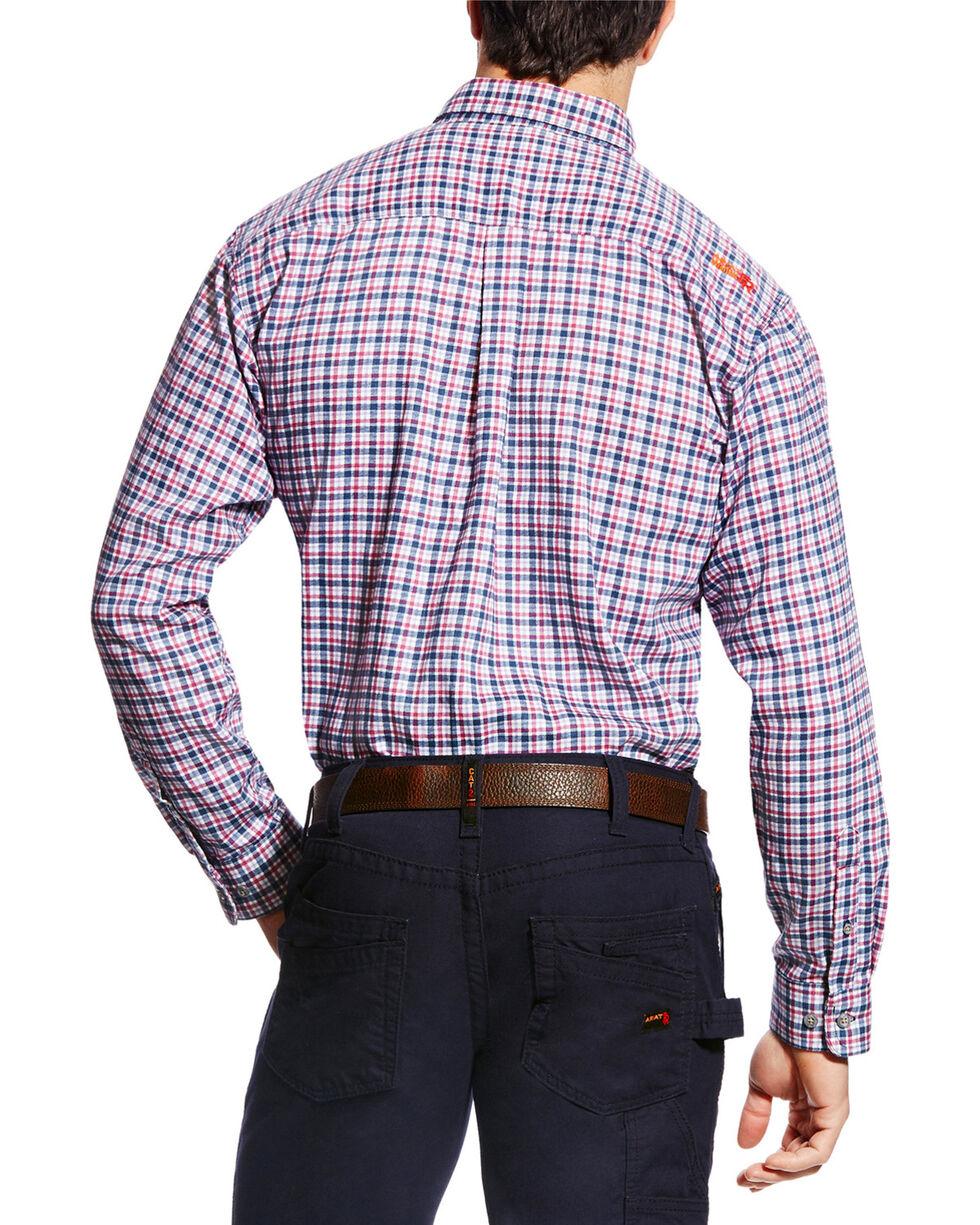 Ariat Men's FR Mercer Long Sleeve Plaid Work Shirt, Multi, hi-res