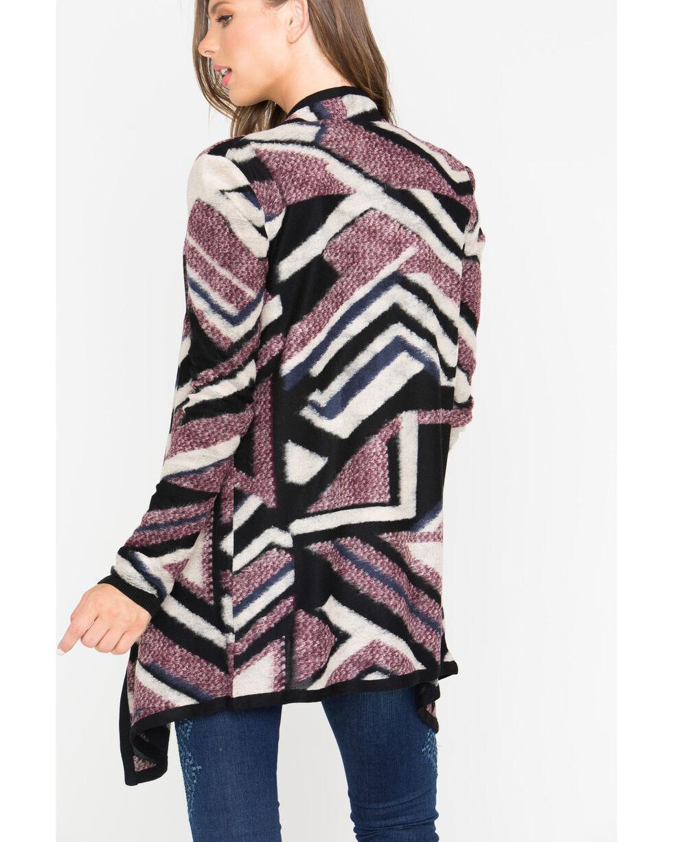 Shyanne Women's Geometric Sweater, Multi, hi-res