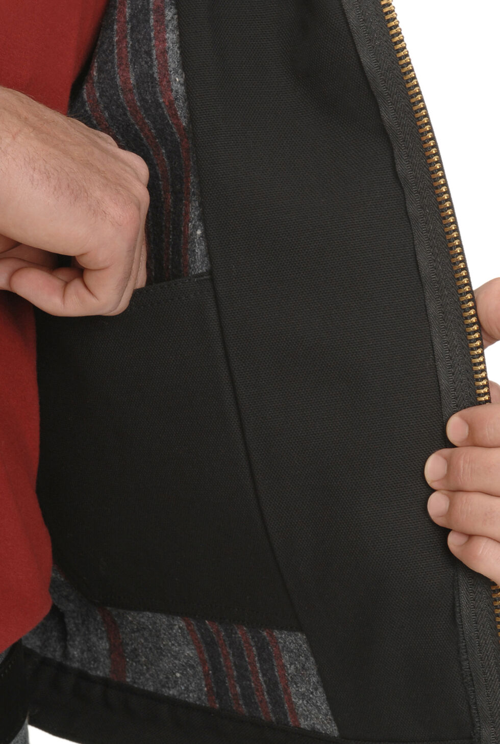 Dickies Blanket Lined Duck Jacket - Big & Tall, Black, hi-res