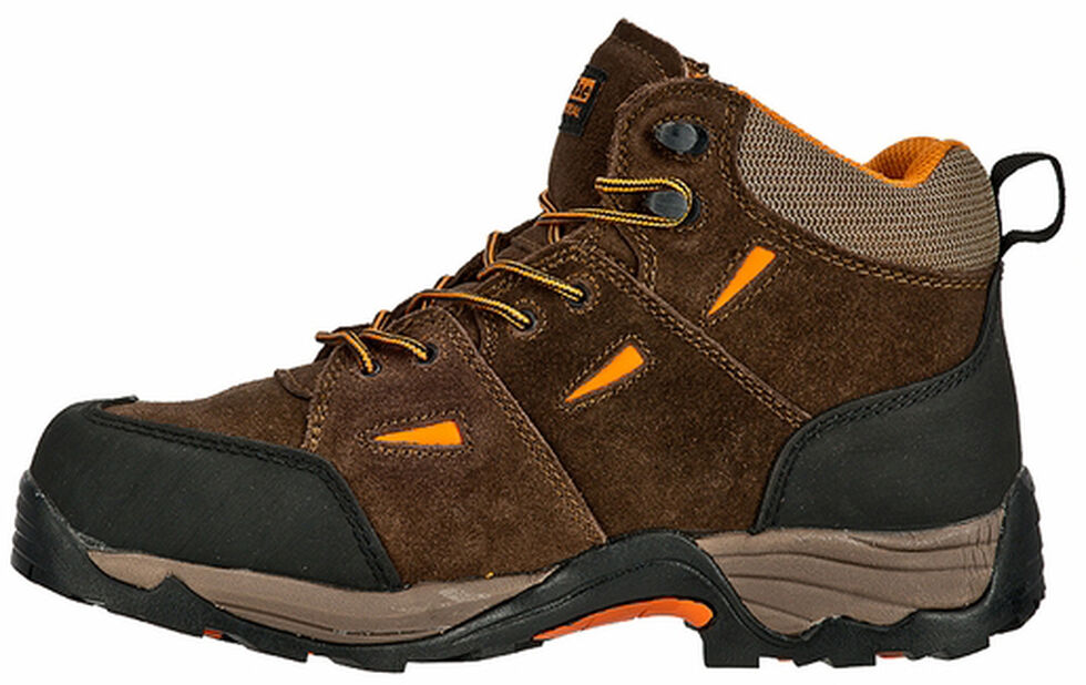 McRae Men's Hiker Met Guard Boots - Composite Toe , Brown, hi-res