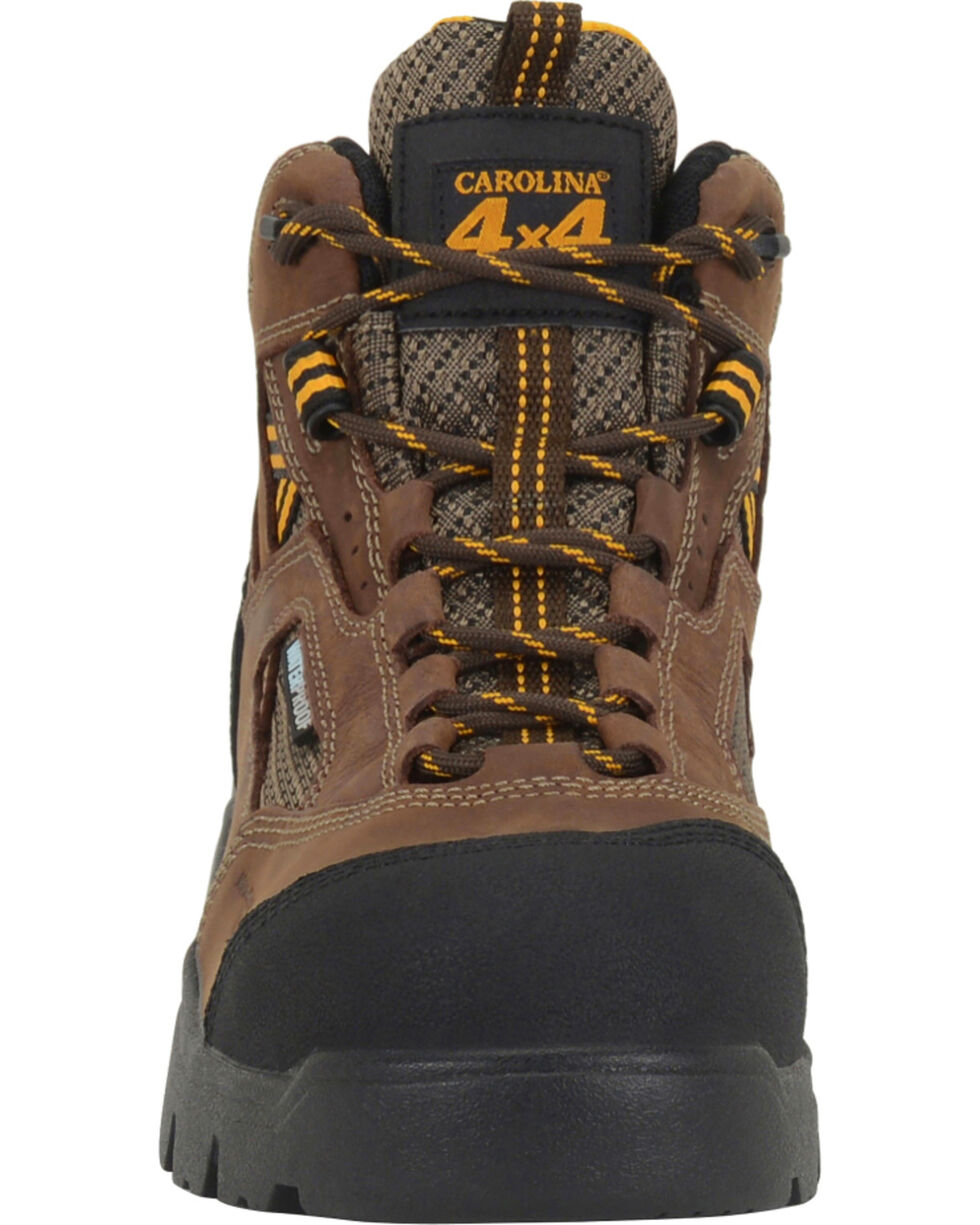Double H Men's Shenandoah Waterproof Work Boots - Comp Toe, Dark Brown, hi-res