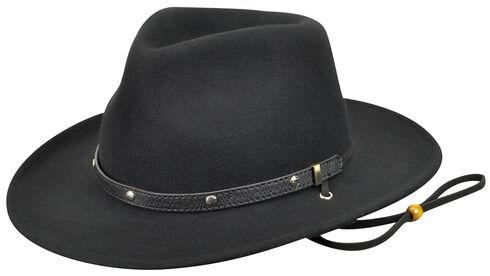 Eddy Bros. by Bailey Men's Calaboose Western Hat, Black, hi-res