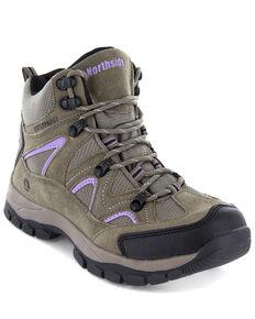 Northside Women's Snohomish Waterproof Hiking Boots - Soft Toe, Tan, hi-res
