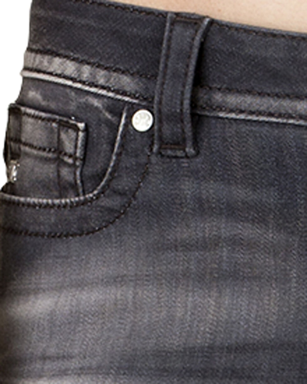 Miss Me Women's Grey City Mid-Rise Skinny Jeans, Grey, hi-res