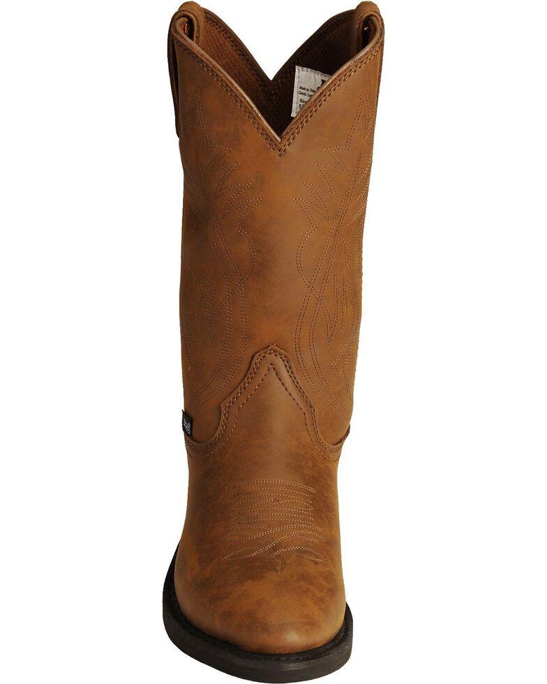 6804247fee4 Justin Men's Butch Farm & Ranch Cowboy Work Boots - Medium Toe