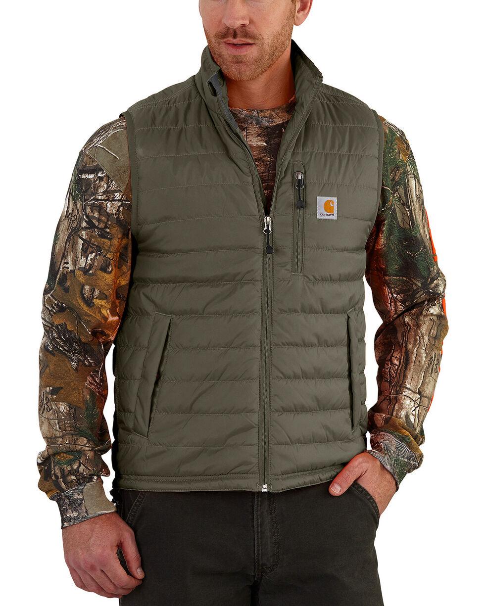 Carhartt Men's Gilliam Vest - Big and Tall , Moss Green, hi-res