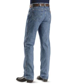 Wrangler 47MWZ Premium Performance Cowboy Cut Regular Fit Prewashed Jeans, Stonewash, hi-res