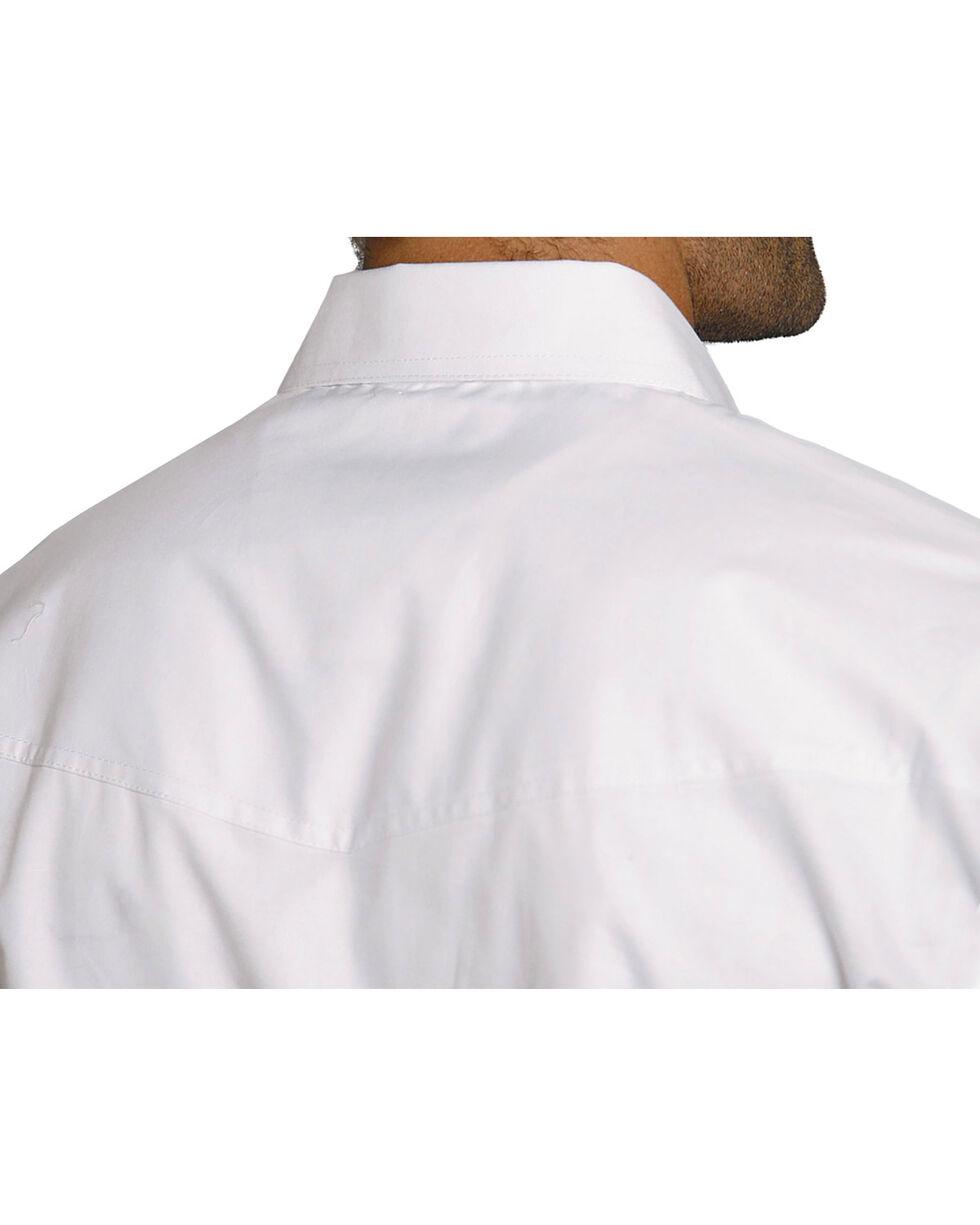 Roper Men's Amarillo Collection Western Shirt, White, hi-res