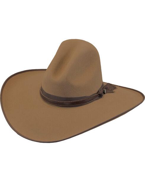 Justin Men's Pecan 7X Fur Felt Quick Draw Hat, Pecan, hi-res