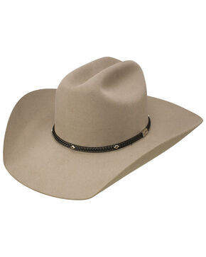 George Strait by Resistol Men's Hollister 6x Felt Cowboy Hat, Tan, hi-res