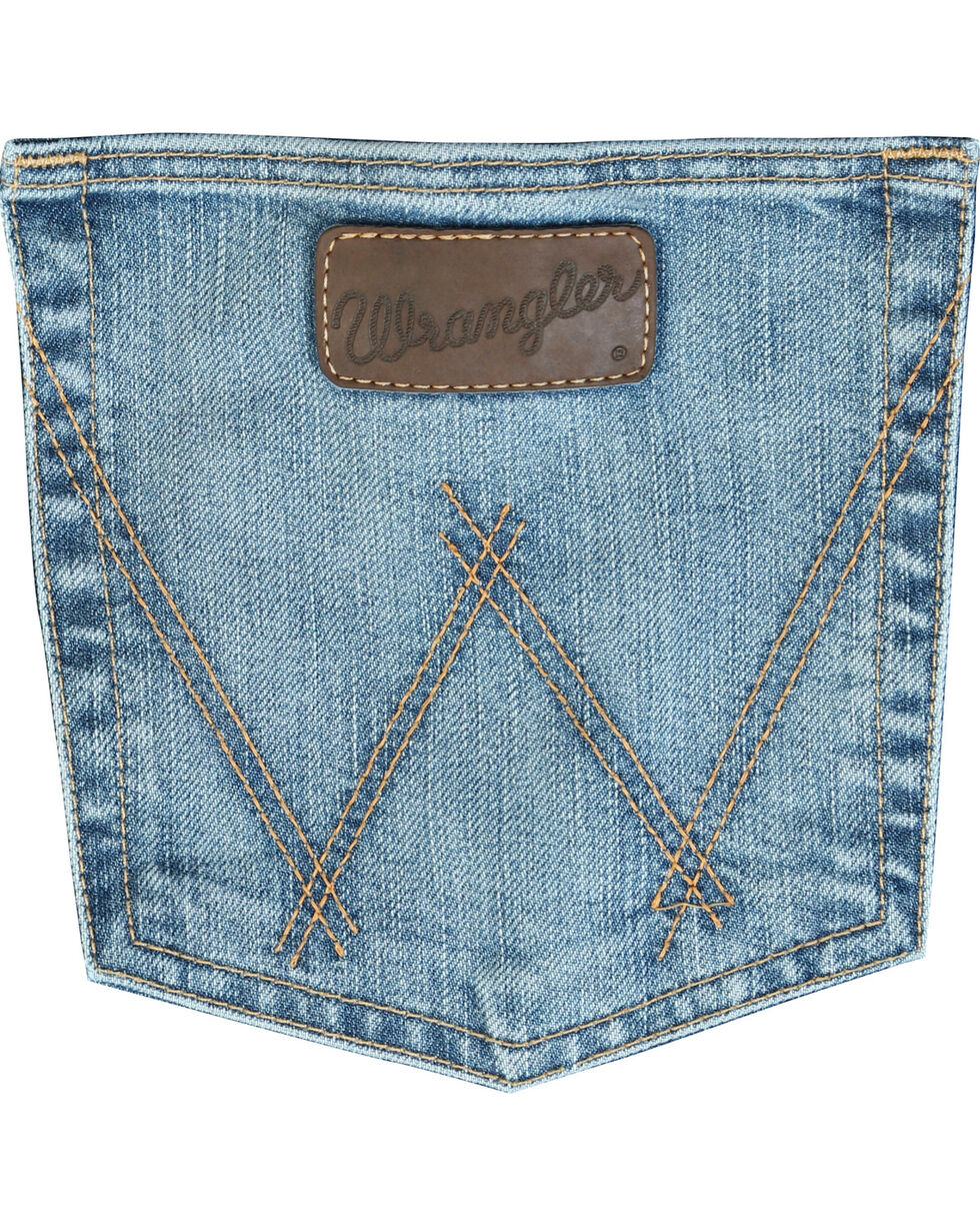 Wrangler Men's 20X Cool Vantage Competition Jeans - Ocean Blue - Tall, Denim, hi-res