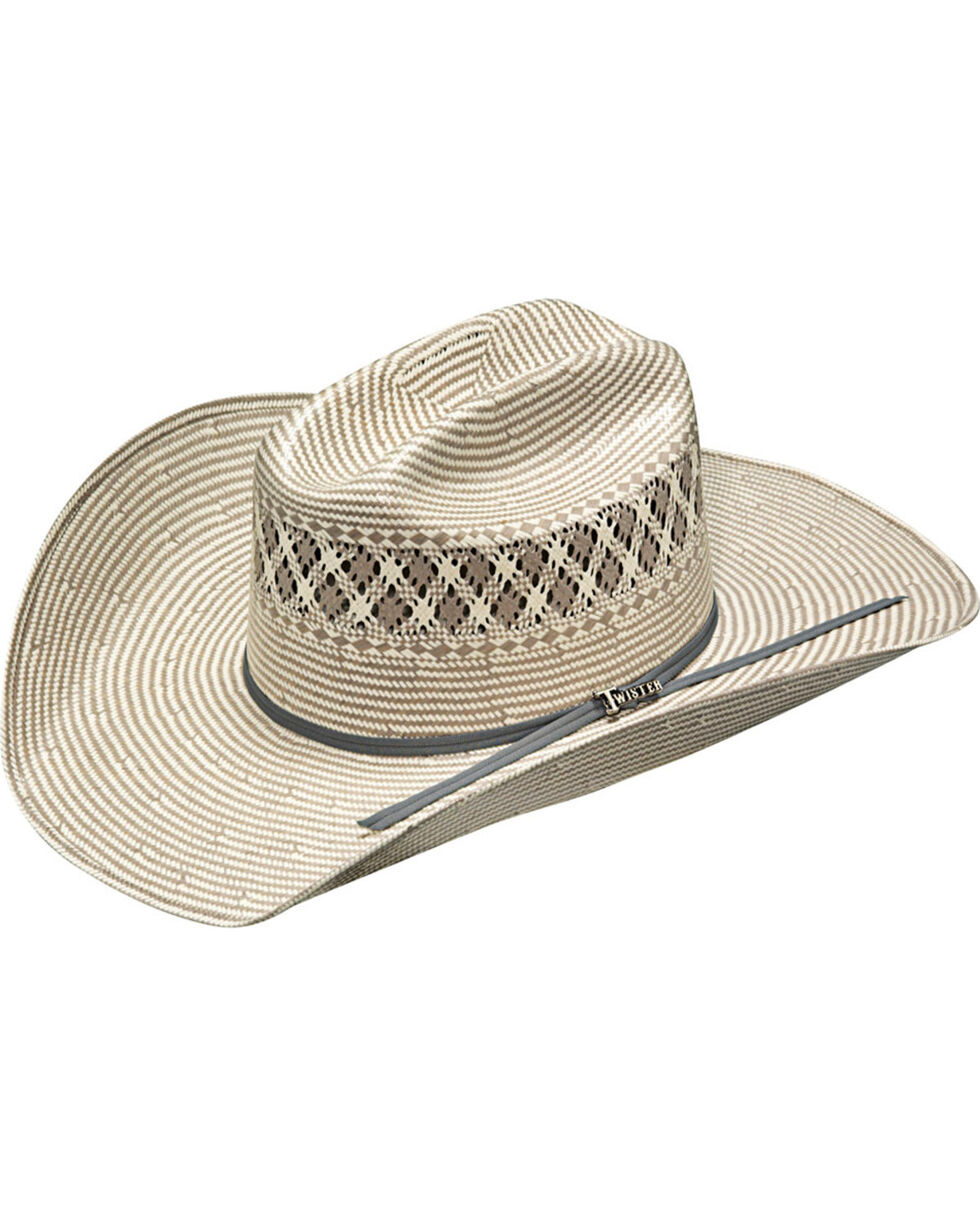 Twister Men's Ivory 20X Shantung Hat , Ivory, hi-res