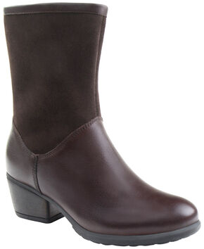 Eastland Women's Brown Kiera Boots, Brown, hi-res