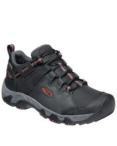 Keen Men's Black Steens Waterproof Hiking Boots - Soft Toe, Black, hi-res