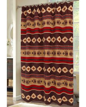 Carstens Cimarron Shower Curtain, Multi, hi-res