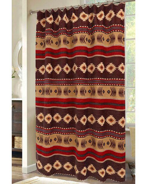 Carstens Cimarron Shower Curtain, Multi, hi-res