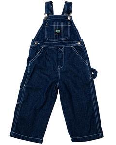 Key Industries Toddler Boys Denim Overalls - 2T-4T, Denim, hi-res