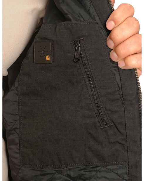 Carhartt Black Ripstop Active Jacket, Black, hi-res
