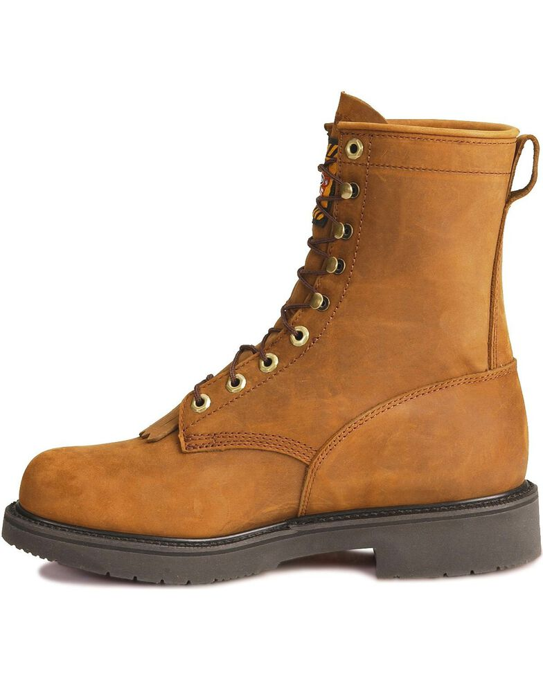 Justin Men S Transcontinental 8 Quot Eh Waterproof Lace Up