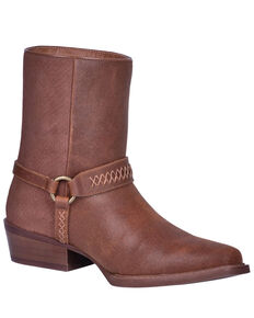 Dingo Men's Butch Western Boots - Round Toe, Rust Copper, hi-res