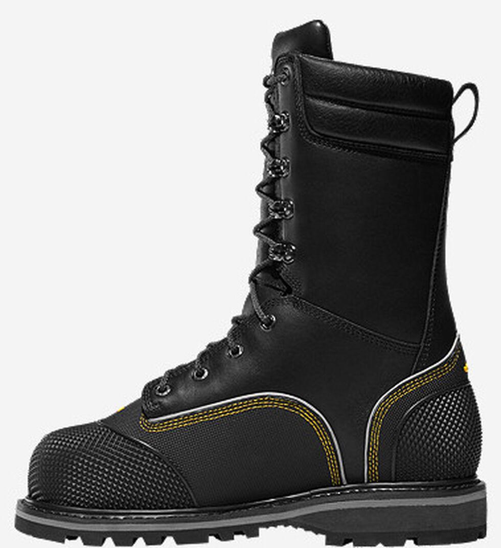 "LaCrosse Longwall II 10"" Waterproof Insulated Work Boots - Composite Toe , Black, hi-res"