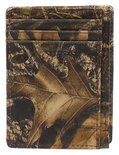 Nocona Camo Card Case Wallet, Camouflage, hi-res