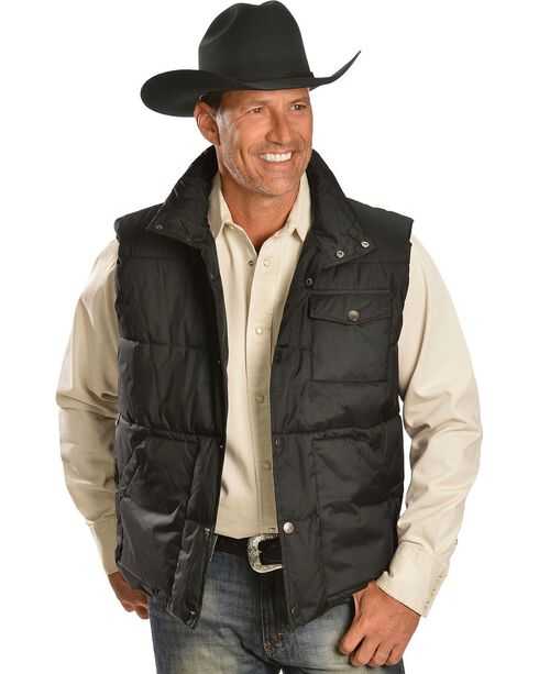 N40 Gear Quilted Polyester Fill Vest, Black, hi-res