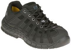 Caterpillar Women's Switch Steel Toe Work Shoes, Black, hi-res