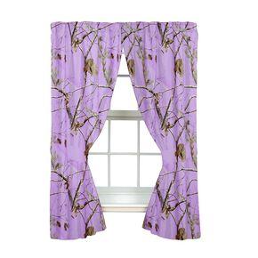 Realtree AP Lavender Rod Pocket Curtains , Camouflage, hi-res