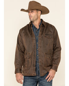 Outback Trading Co. Men's Brown Wayne Jacket , Brown, hi-res