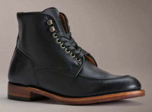 Frye Men's Walter Lace-up Boots - Round Toe, Black, hi-res