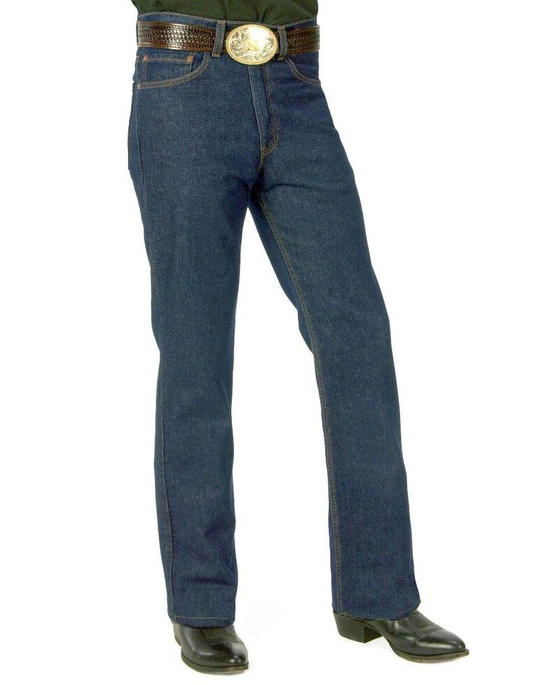 "Levi's Men's 517 Boot Cut Jeans - 44"" Waist, Rinsed, hi-res"