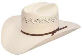 Stetson Peeler Dri-Lex 8X Shantung Straw Cowboy Hat, Natural, hi-res