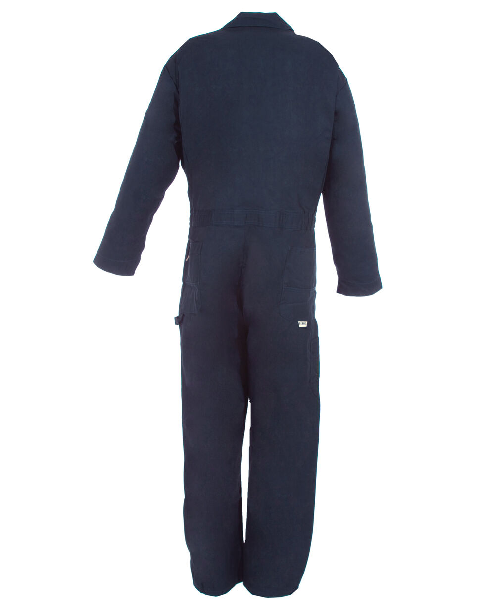 Berne Navy Deluxe Unlined Coveralls - 3XL, Navy, hi-res