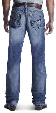Ariat Men's M4 Shotwell Vegas Bootcut Jeans , Med Blue, hi-res