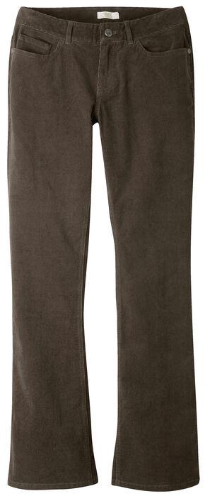 Mountain Khakis Women's Canyon Cord Slim Fit Pants - Petite, Dark Brown, hi-res